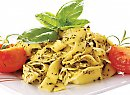 Click to read Pesto fettuccine