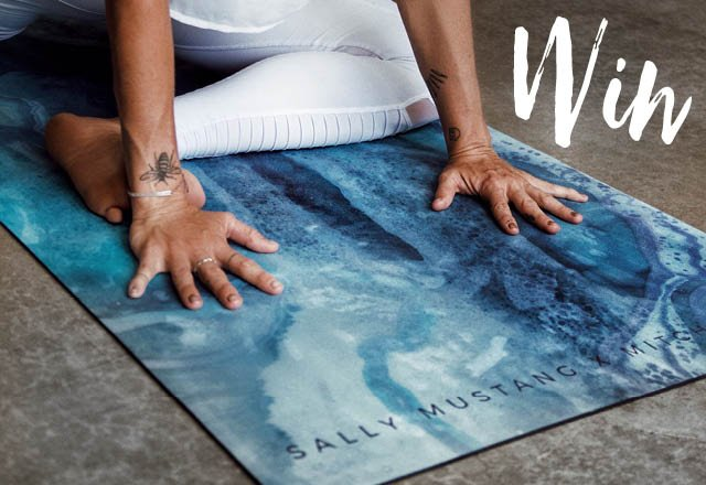 Win 1 of 5 Sally Mustang yoga mats