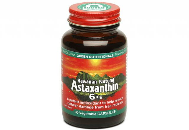 Astaxanthin: nature's supercharged antioxidant