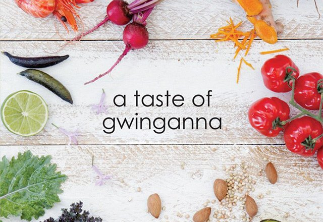 'a taste of gwinganna' book launch event