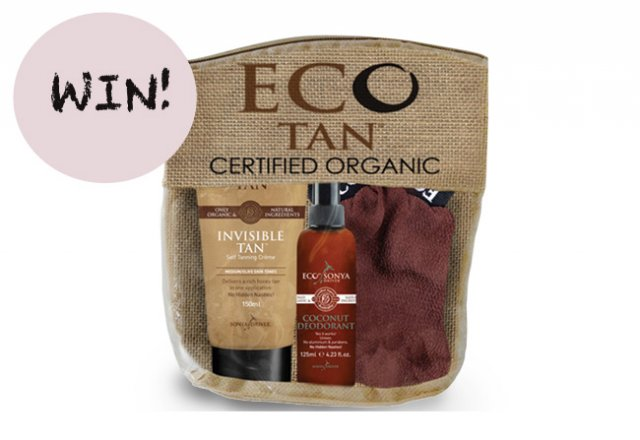Win an Eco Tan organic prize pack, worth $54