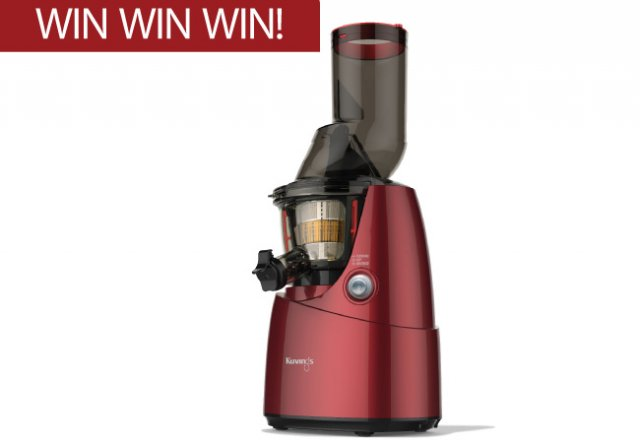 WIN a Kuvings Whole Slow Juicer, worth $599