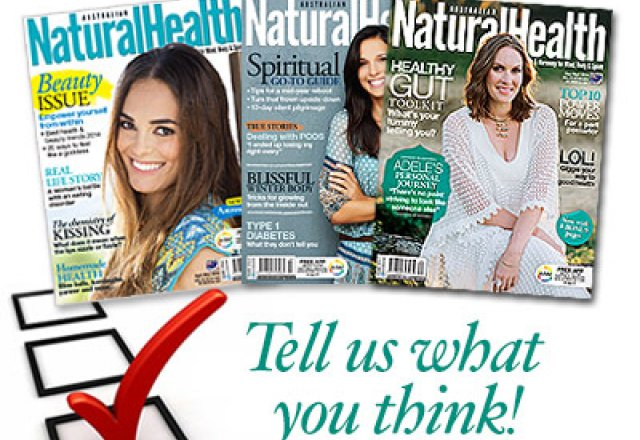Natural Health Reader Survey 2015