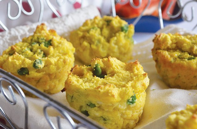 Cauliflower And Pea Bites Lunchbox Ideas For Kids