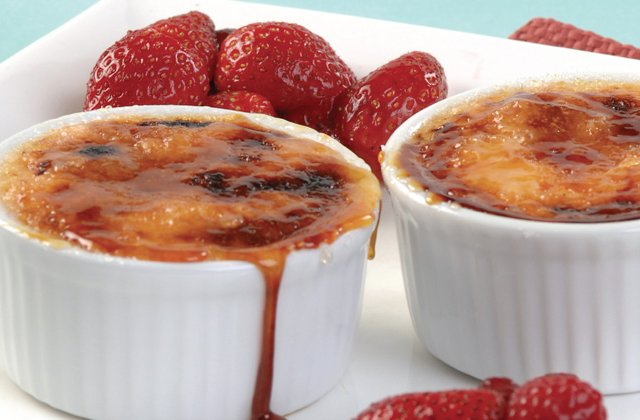 Crème brulee recipe | Low fat | Nourish magazine Australia