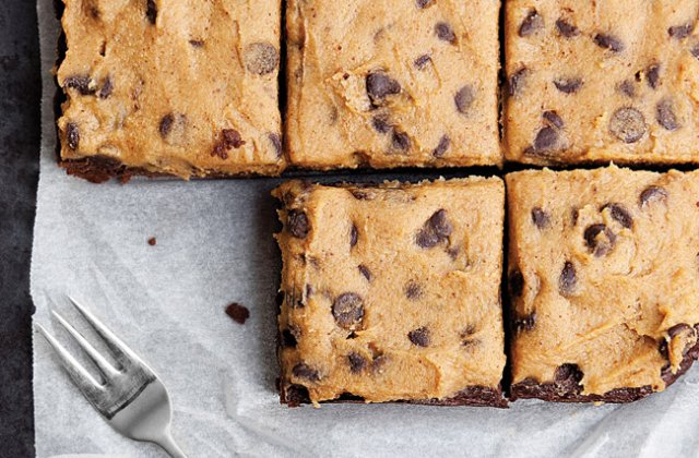 Sweet Potato Brownies With Chickpea Cookie Dough Yum