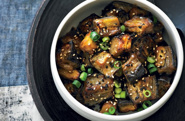 Miso Roasted Eggplant From Adam Liaw Eggplant Recipes