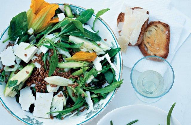 Raw veg spelt ricotta salata bitter leaf salad recipe nourish raw veg spelt ricotta salata bitter leaf salad recipe nourish magazine australia forumfinder Gallery