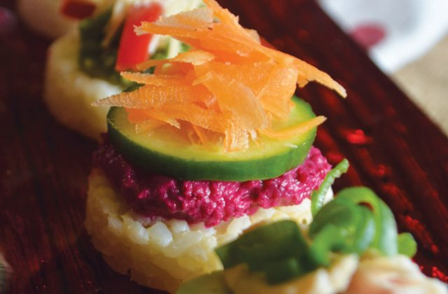 Rice canap s gluten free quick easy party recipes for Gluten free canape