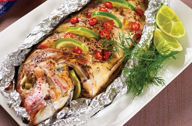 how to cook whole sea bass on bbq