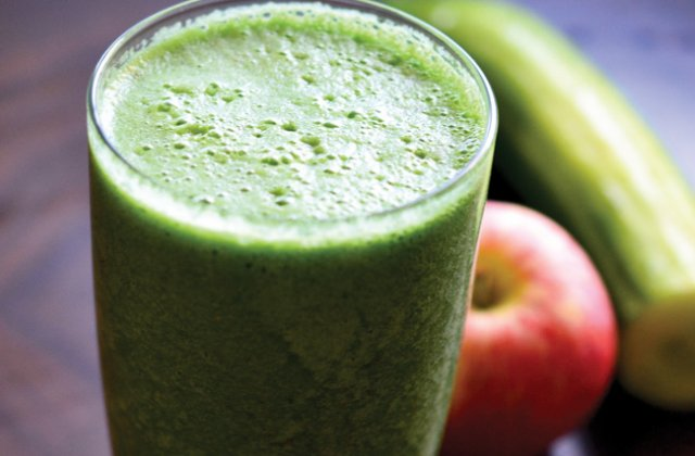 Spicy Green Apple Smoothie Recipe Vegan Nourish
