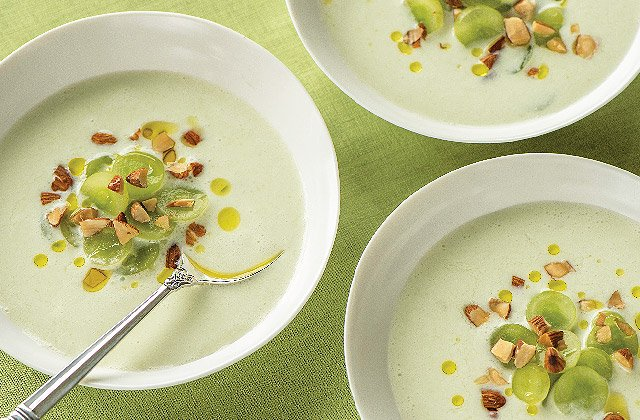 ... white gazpacho 100 days of real food white gazpacho recipe on food52